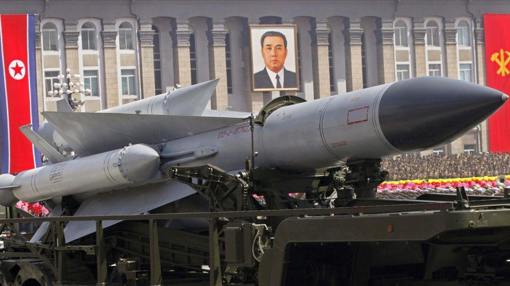 Foto: Misiles de Corea del Norte (EFE)