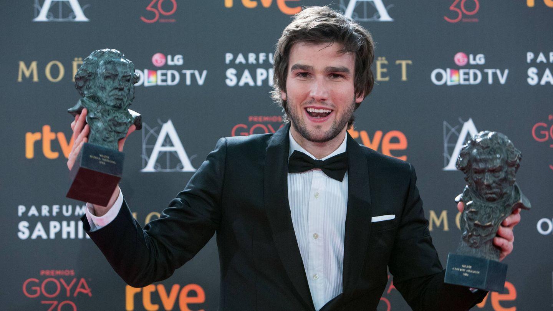 Lucas Vidal, en los Goya 2016. (Getty)