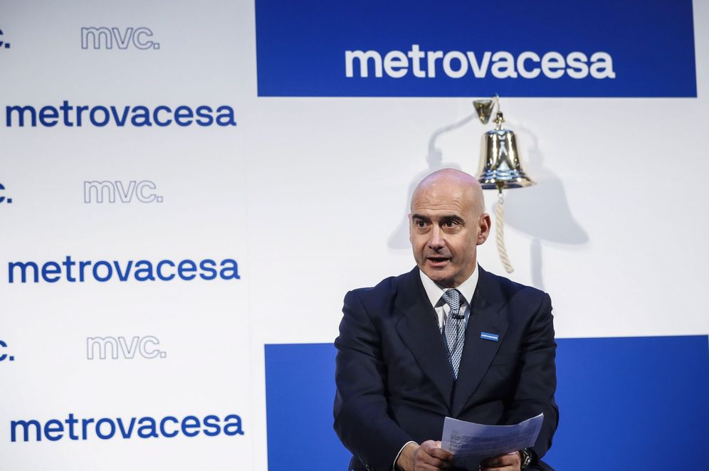 Foto: Jorge Pérez de Leza, consejero delegado de Metrovacesa