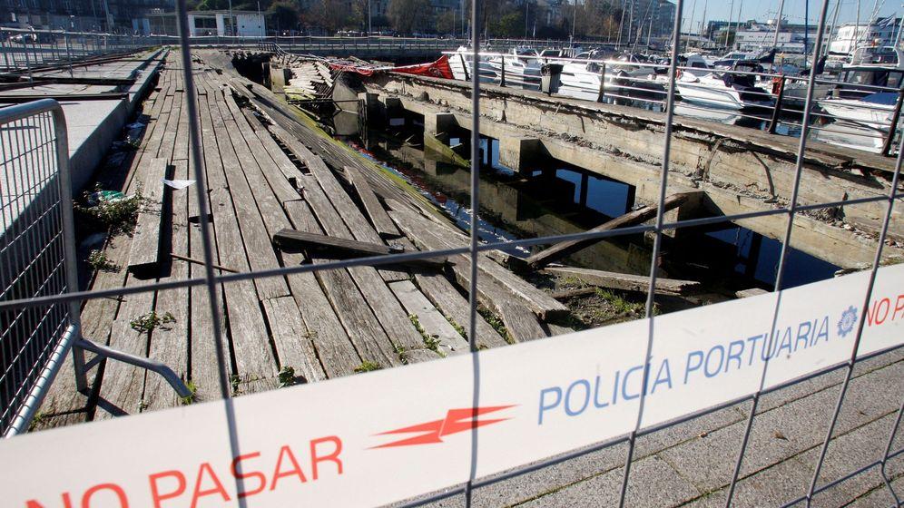 Foto: Vista del lugar del accidente que ocurrió en el festival de O Marisquiño el pasado 12 de agosto en Vigo. (EFE)