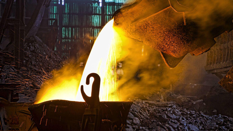 Horno 'flash' de la fundición de Huelva. (Atlantic Copper)