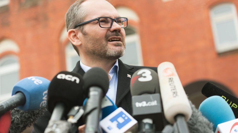 Foto: El vicepresidente primero del Parlamento catalán, Josep Costa. (EFE)