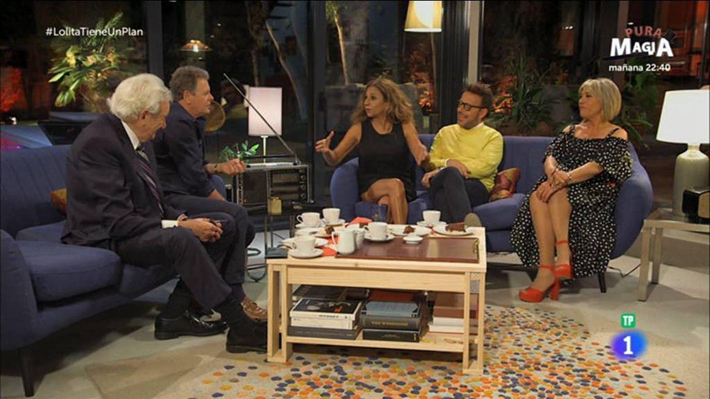 Lolita y sus invitados en 'Lolita tiene un plan'. (RTVE)