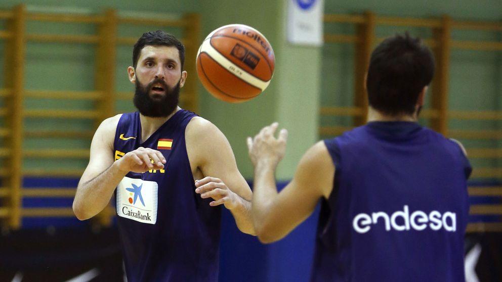 La lista de España del Mundial de baloncesto: ni Mirotic, ni Ibaka ni Sergio Rodríguez