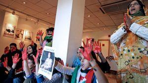Foto: Desalojados los activistas saharauis que ocuparon la sede del PSOE en Valencia