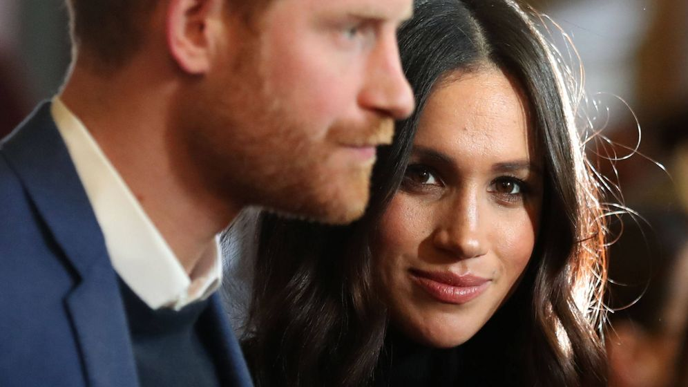 Foto: El príncipe Harry y Meghan Markle. (Getty)