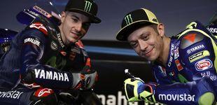 Post de Yamaha sonríe sin Lorenzo, pero… ¿y si Viñales se sube a las barbas de Rossi?