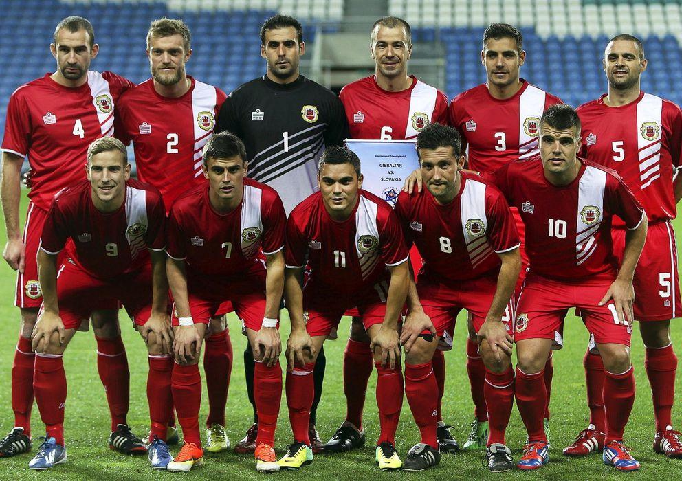 Foto: Gibraltar jugará su primer partido oficial ante Polonia (EFE)