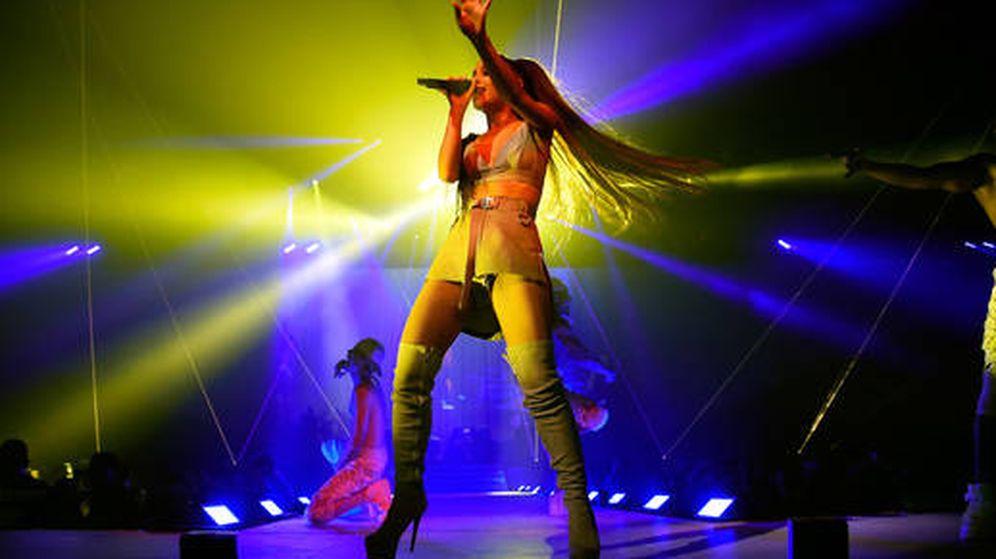 Foto: Ariana Grande en concierto