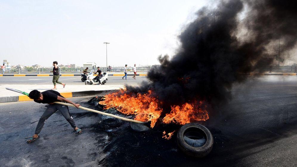 Foto: Miles de iraquíes se manifiestan en Bagdad. (Reuters)