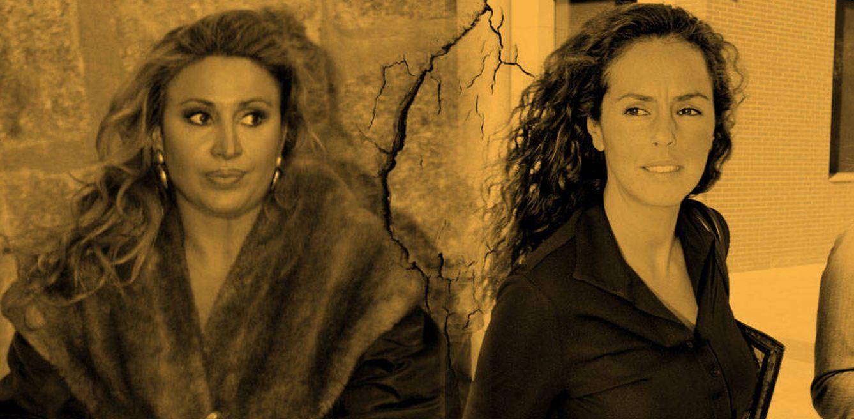 Foto: Raquel Mosquera y Rocío Carrasco (Fotomontaje de Vanitatis)