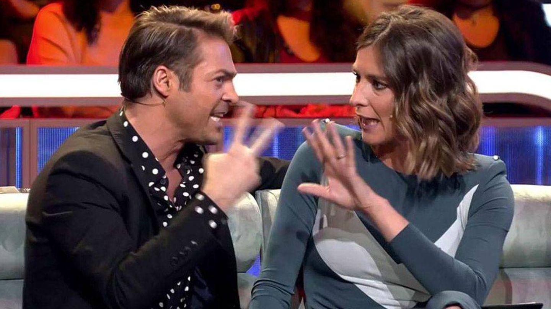 Hugo Castejón y Sandra Barneda. (Telecinco).