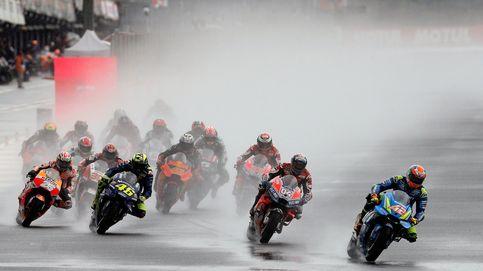 La última carrera de Pedrosa fue un caos y terminó con victoria de Dovizioso