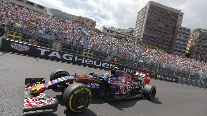 Foto: Carlos Sainz durante la carrera de Mónaco (Efe)