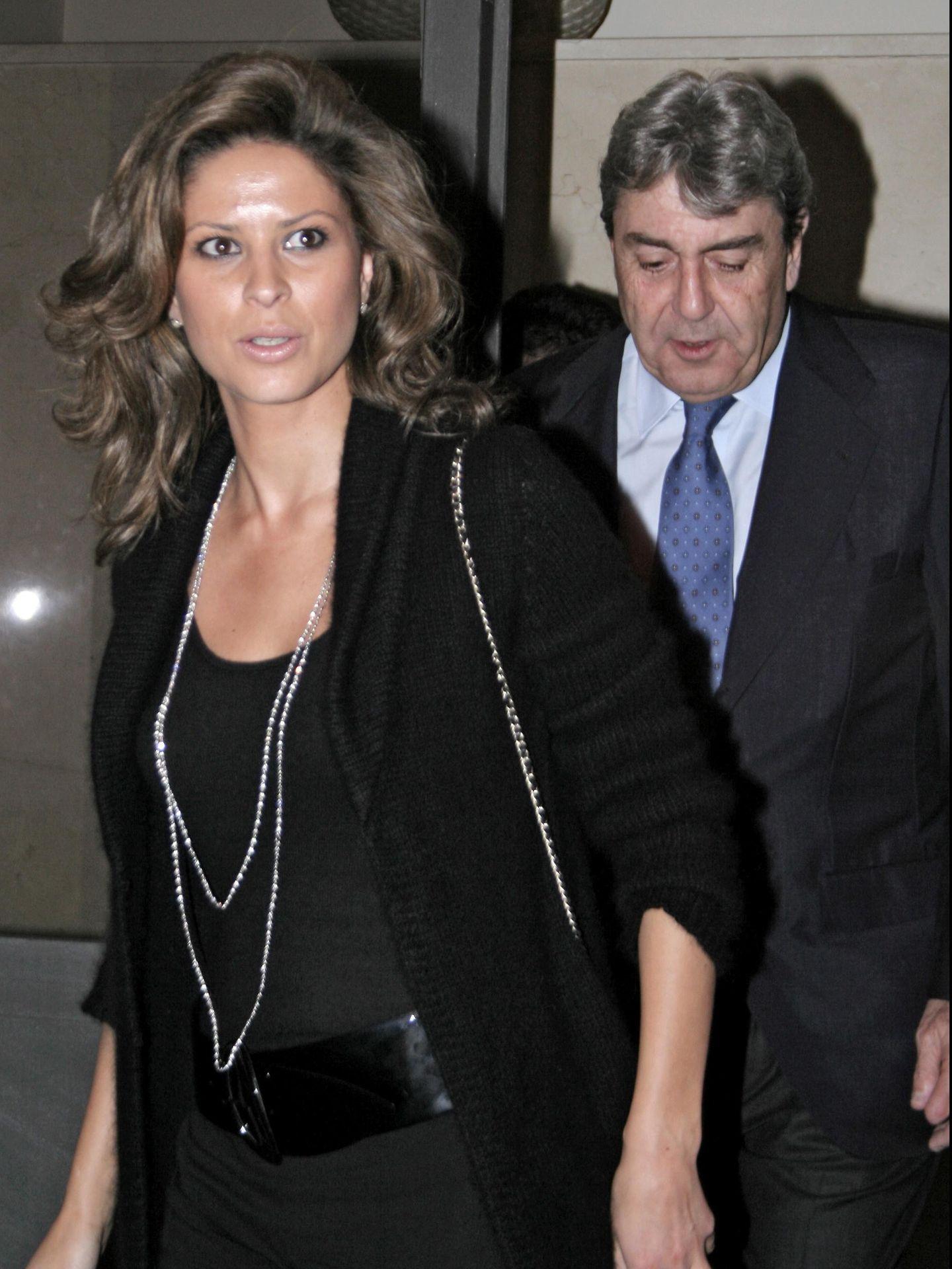 Alberto Cortina y Elena Cue en una imagen de archivo (Gtres)
