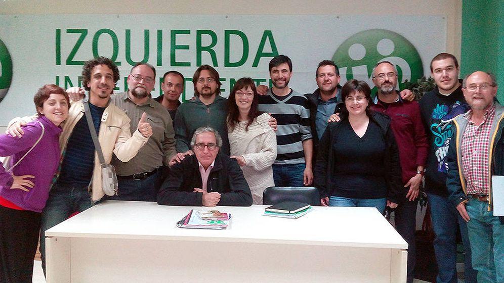 Foto: Algunos de los miembros de la candidatura de Izquierda Independiente que se presentó a las elecciones de 2015.