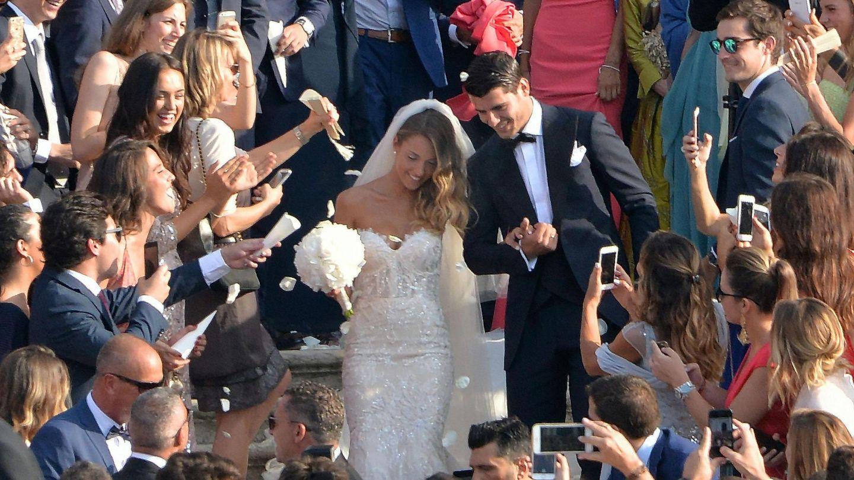 Alice Campello y Morata el día de su boda. (Foto: EFE)