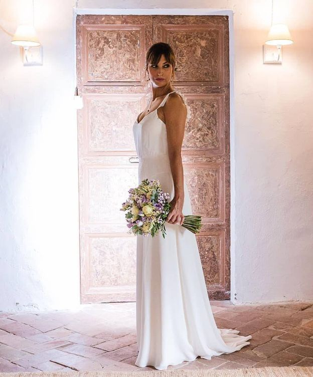 Foto: Sandra Sabatés ha compartido esta imagen de su boda en redes.