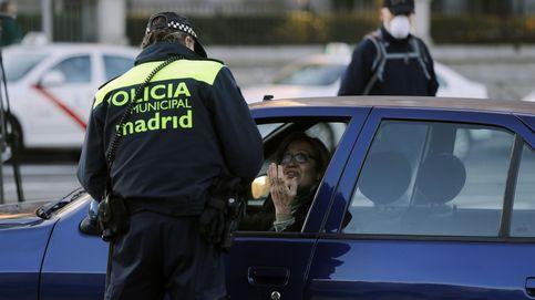 El cierre al tráfico de vehículos en el centro de Madrid, en imágenes