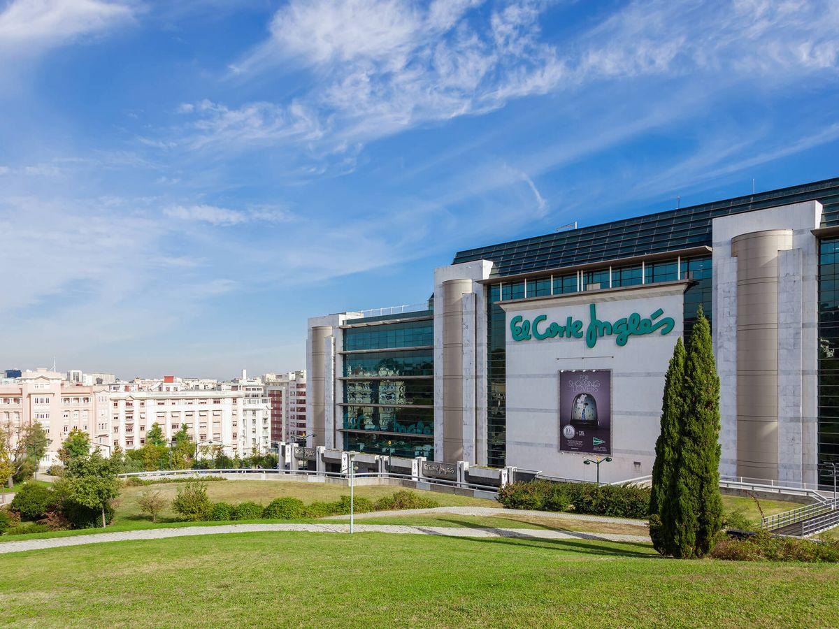 Foto: Centro comercial de El Corte Inglés. (iStock)