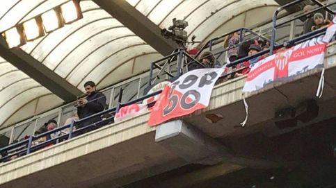 Podemos lleva al Senado la polémica por la pancarta del Osasuna-Sevilla