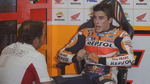 La telemetría de Honda confirma un impacto de Rossi al freno de Márquez
