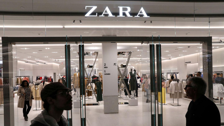 Entrada de la tienda de Zara en Nueva York. (Reuters)