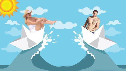 Tita y Borja Thyssen navegan separados por el Mediterráneo