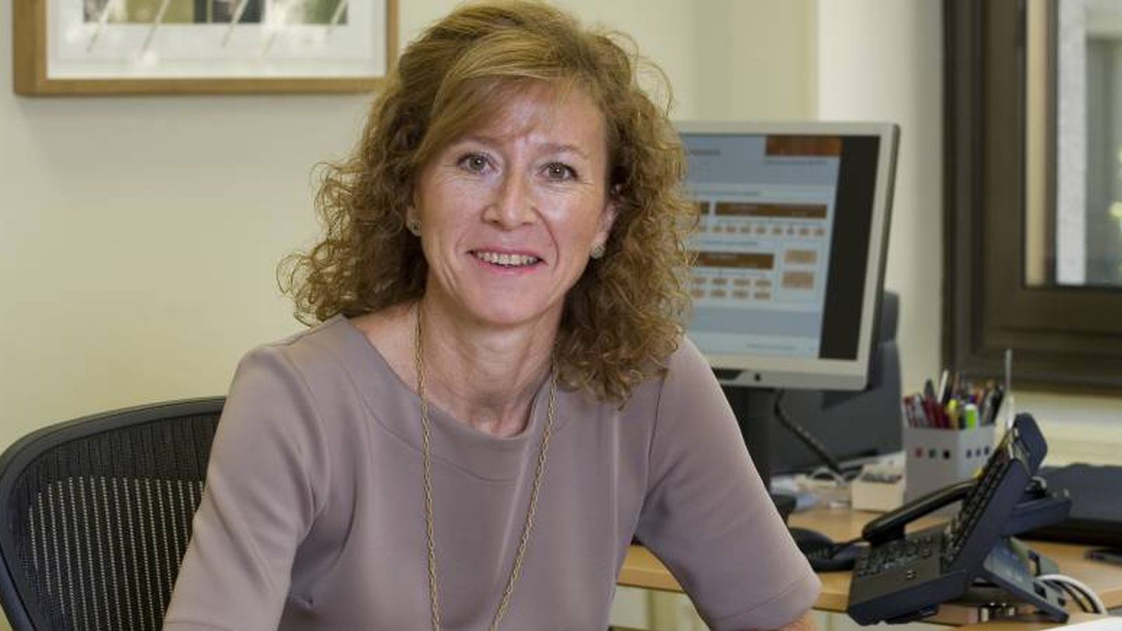 Foto: Margarita Delgado, nueva subgobernadora del Banco de España. (Banco de España)
