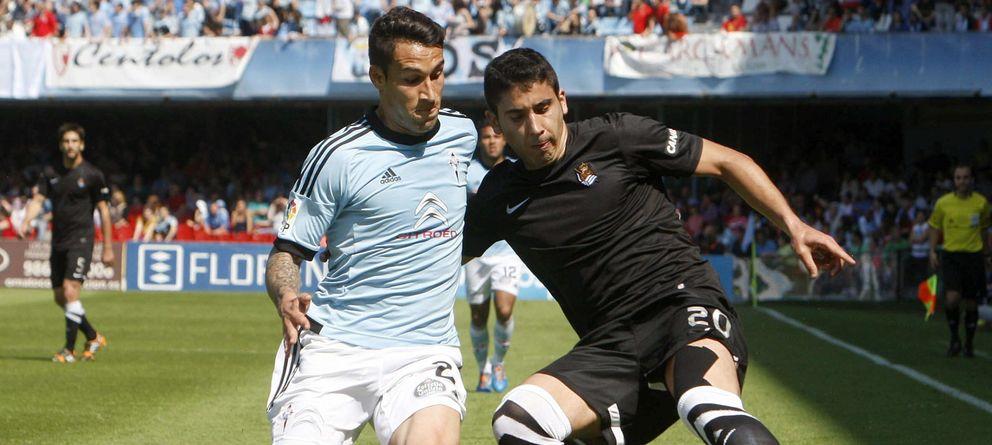 Foto: El Celta de Vigo salva un punto en Balaídos con diez jugadores frente a la Real Sociedad