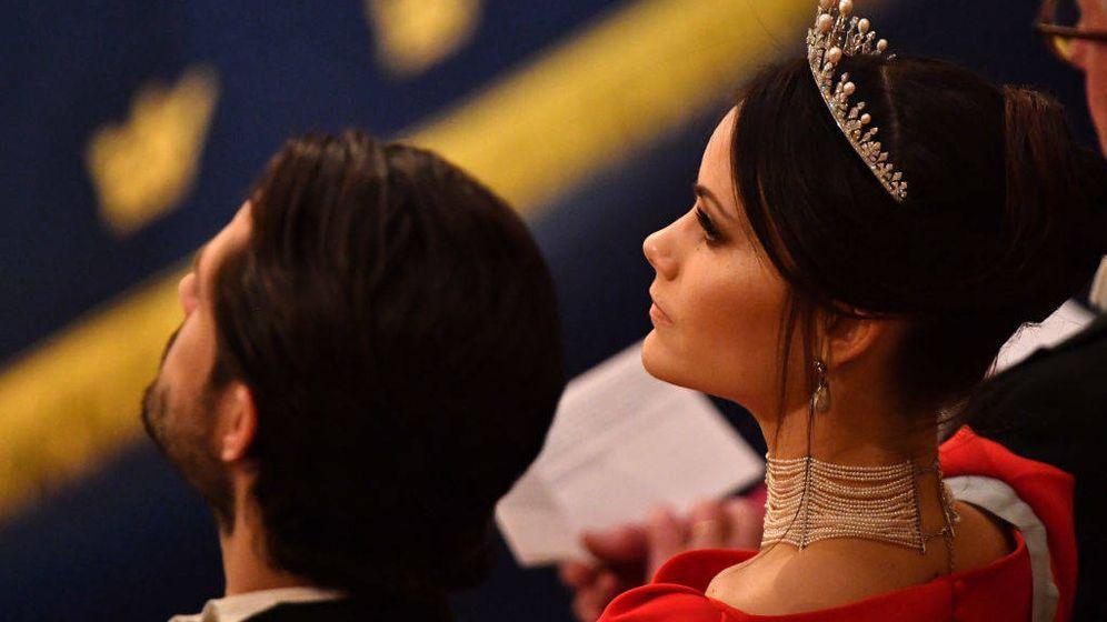 Foto: La princesa Sofía con la gargantilla. (Limited Pictures)