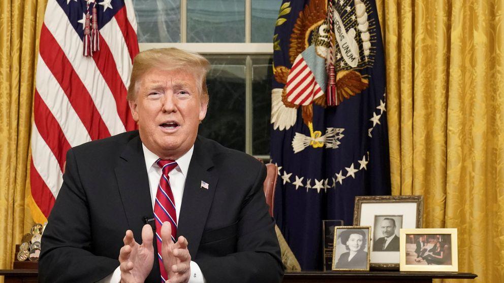 Trump denuncia una crisis humanitaria en la frontera y exige construir el muro