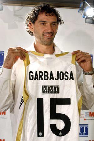 """Garbajosa: """"Cumplo un deseo, nunca había podido jugar en un club"""" de Madrid"""