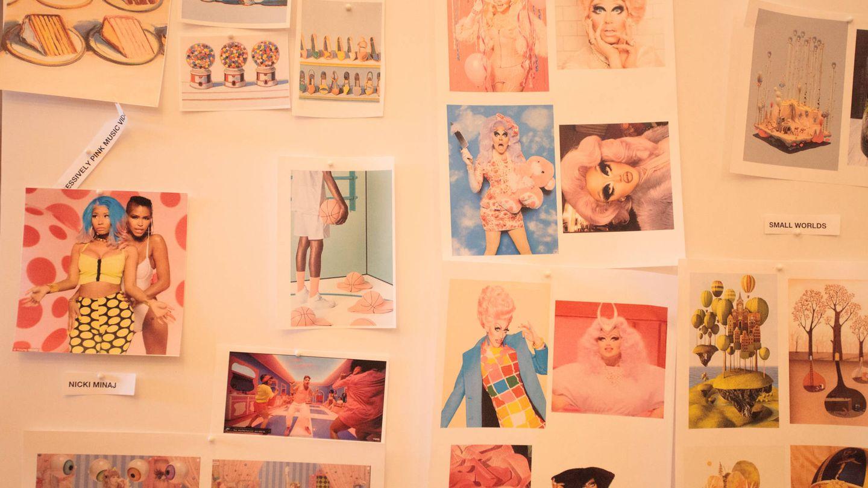Las 'Drags queens' conviven con otros artistas como referencias en las paredes de USTWO. (USTWO)