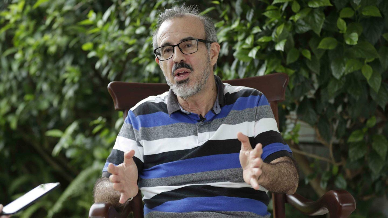 Luis Carrión, excomandante revolucionario nicaragüense en el exilio. (EFE)