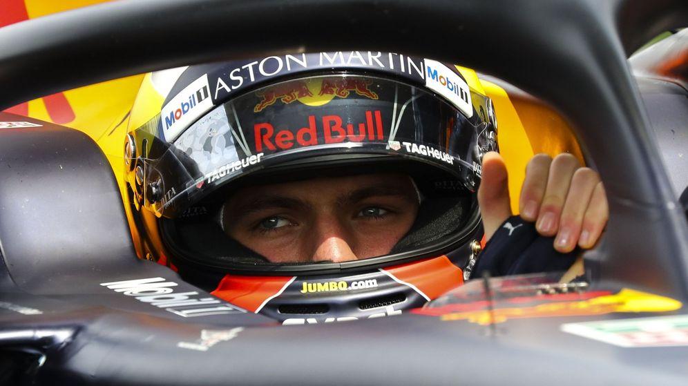 Foto: Max Verstappen durante el GP de China. (EFE)
