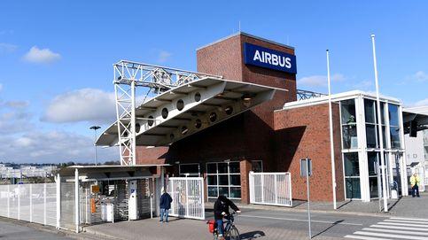 Airbus suspende la producción en sus plantas de Francia y España