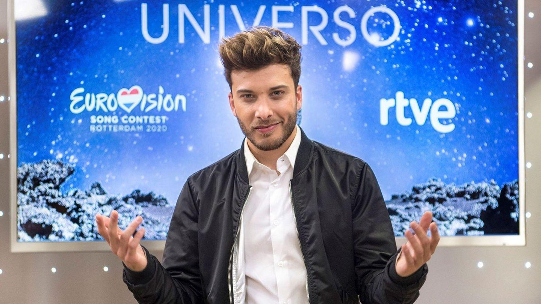 Blas Cantó, presentando 'Universo'. (EFE)