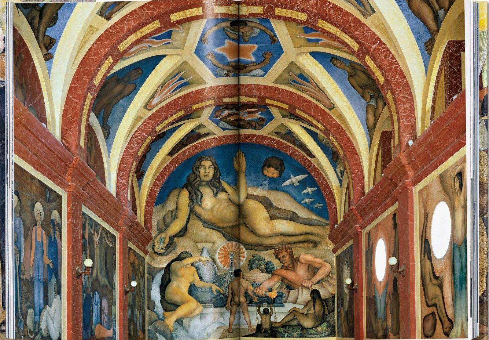 Murales De Diego Rivera En Estados Unidos