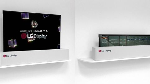 LG estrena la tele más loca que verás: un enorme panel enrollable de 65 pulgadas