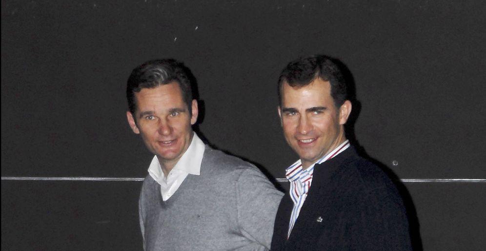 Foto: Felipe y Urdangarin en una imagen de archivo de 2007. (Gtres)