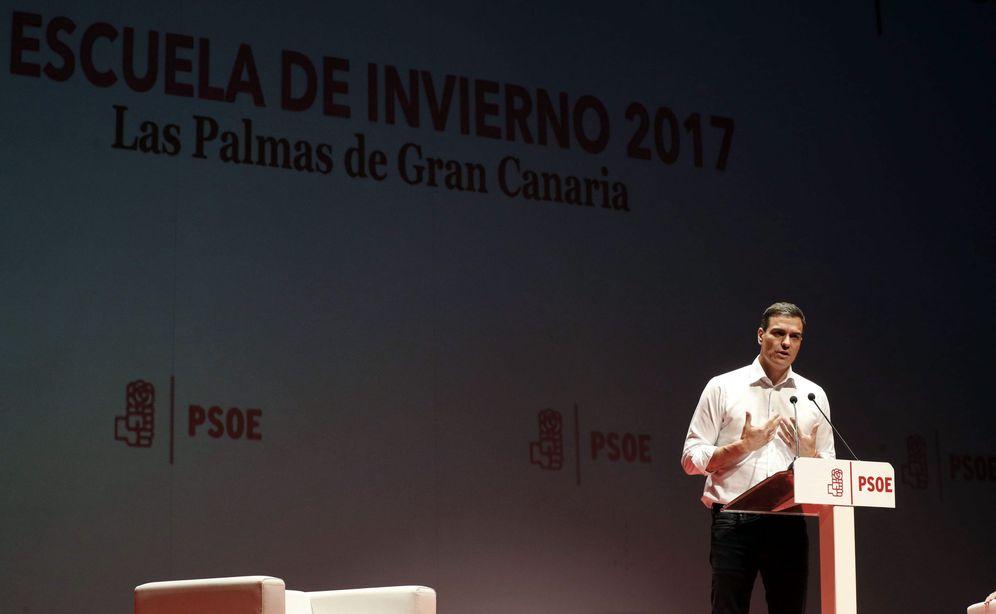 Foto: Pedro Sánchez, el pasado 27 de marzo en Las Palmas de Gran Canaria. (EFE)