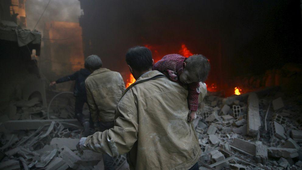 Testimonios del terror: así es vivir bajo las bombas de barril en Siria