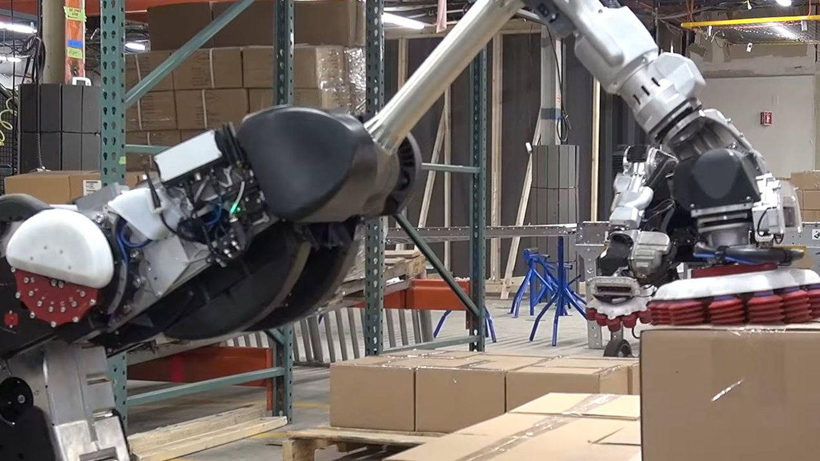 Código promocional mayor selección de envío directo Google: El nuevo robot de Boston Dynamics acabará con el ...