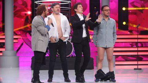 Àngel Llàcer y Miki Nadal se desnudan con un striptease en 'TCNMST'