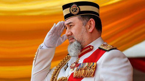 Con tiara y sin alcohol: la fastuosa boda del rey de Malasia con Miss Moscú 2015