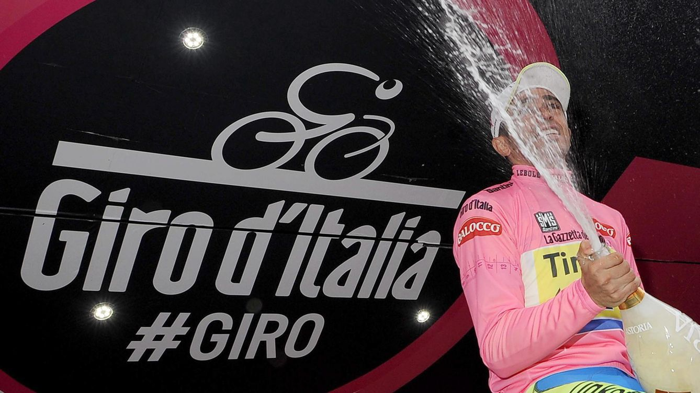 Foto: Contador está sorprendido, pero aprende de Simeone y ya va etapa a etapa