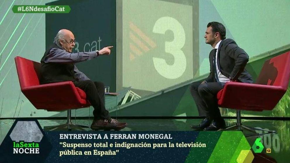 Ferran Monegal ('La Sexta noche'): TV3 es la cheerleader del procés