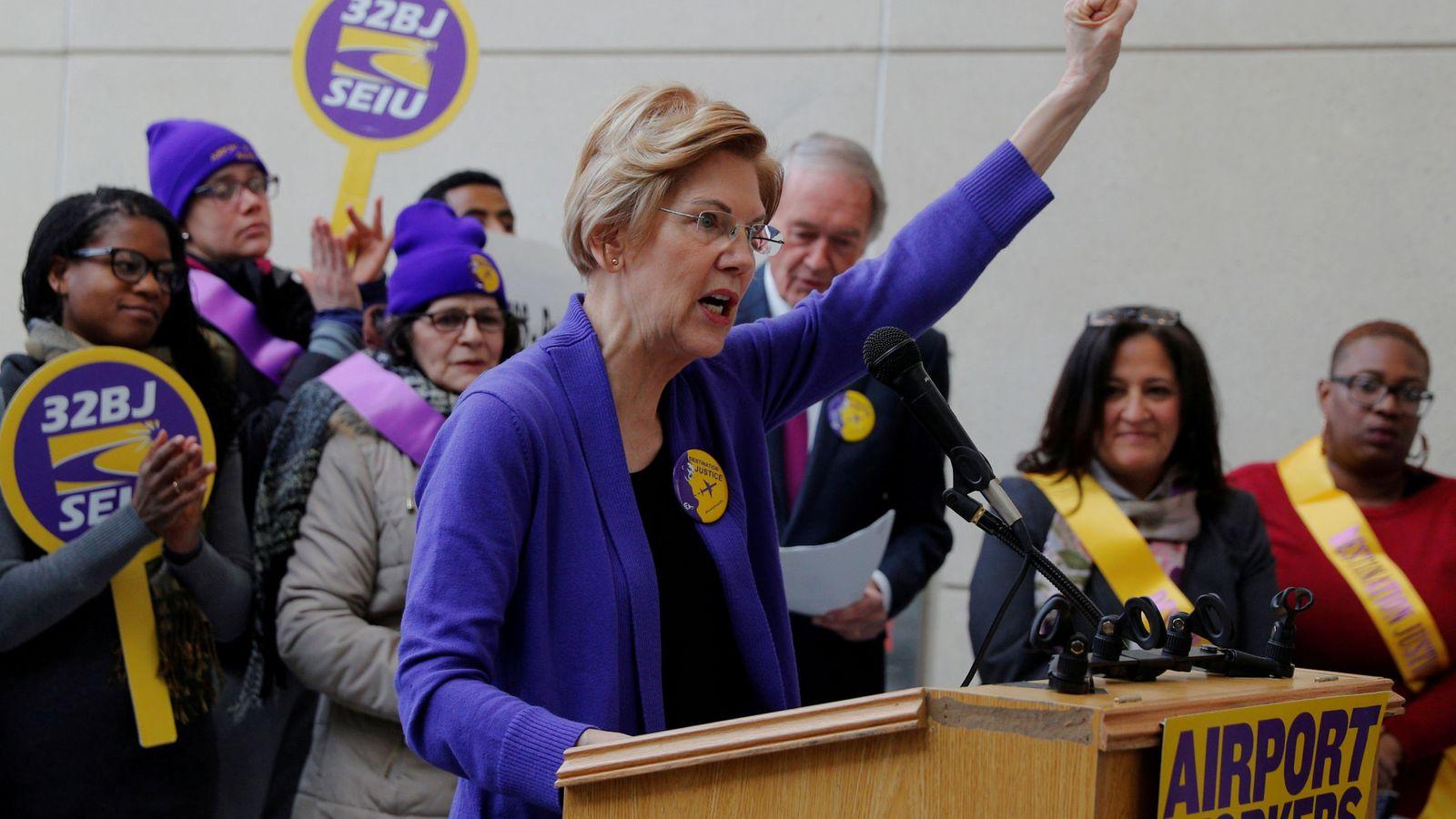 Foto: Elizabeth Warren. (Reuters)