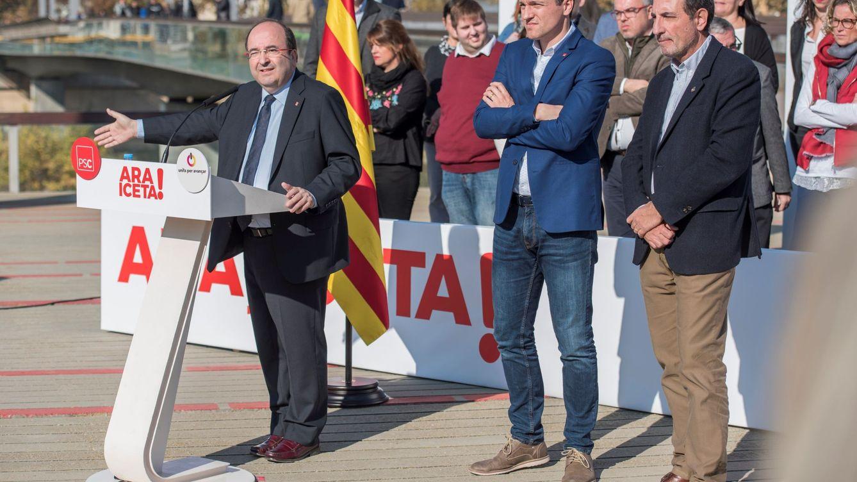 La apuesta de PSOE y PSC: elección de Iceta como 'president' aunque quede detrás de Cs